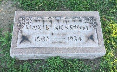 BONSTEEL, MAX K. - Lake County, Ohio   MAX K. BONSTEEL - Ohio Gravestone Photos