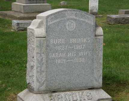 BROOKS, BURR - Lake County, Ohio | BURR BROOKS - Ohio Gravestone Photos