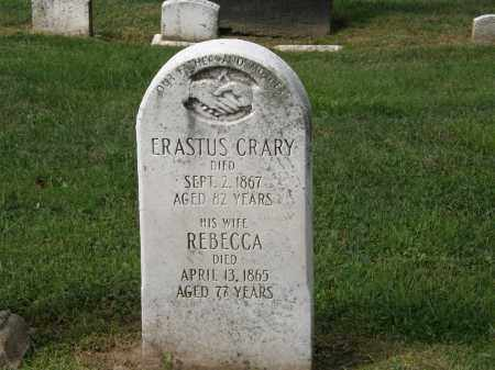CRARY, ERASTUS - Lake County, Ohio | ERASTUS CRARY - Ohio Gravestone Photos