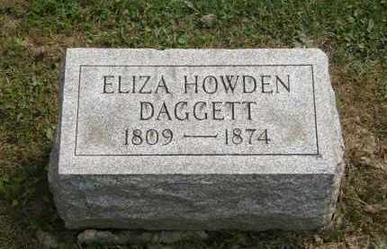 DAGGETT, ELIZA - Lake County, Ohio | ELIZA DAGGETT - Ohio Gravestone Photos