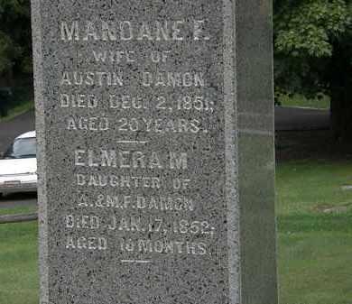 DAMON, ELMERA M. - Lake County, Ohio | ELMERA M. DAMON - Ohio Gravestone Photos