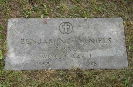 DANIELS, BENJAMIN F. - Lake County, Ohio | BENJAMIN F. DANIELS - Ohio Gravestone Photos