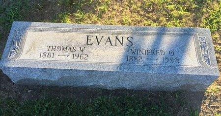 EVANS, THOMAS W. - Lake County, Ohio | THOMAS W. EVANS - Ohio Gravestone Photos