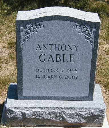 GABLE, ANTHONY - Lake County, Ohio | ANTHONY GABLE - Ohio Gravestone Photos