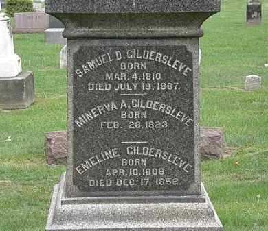 GILDERSLEVE, EMELINE - Lake County, Ohio | EMELINE GILDERSLEVE - Ohio Gravestone Photos