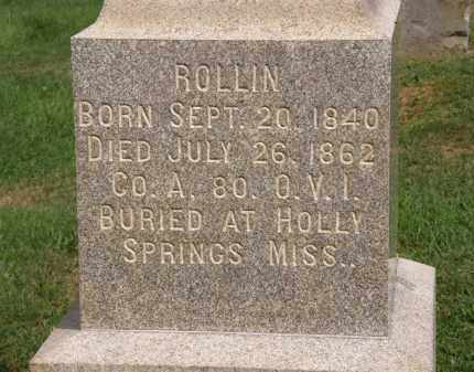 HOTCHKISS, ROLLIN - Lake County, Ohio | ROLLIN HOTCHKISS - Ohio Gravestone Photos