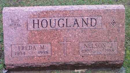 HOUGLAND, FREDA - Lake County, Ohio | FREDA HOUGLAND - Ohio Gravestone Photos