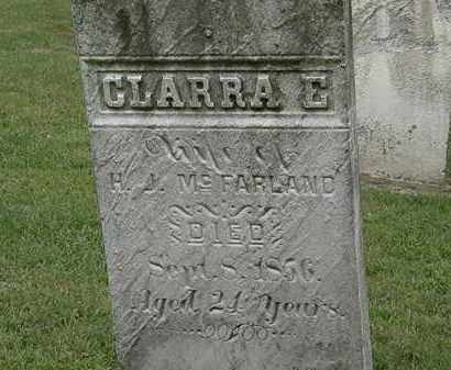 MCFARLAND, CLARRA E. - Lake County, Ohio | CLARRA E. MCFARLAND - Ohio Gravestone Photos