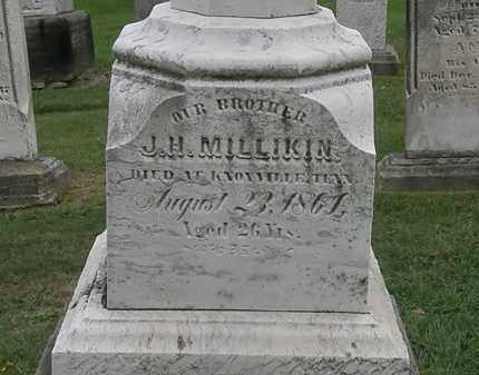 MILLIKEN, J.H. - Lake County, Ohio | J.H. MILLIKEN - Ohio Gravestone Photos