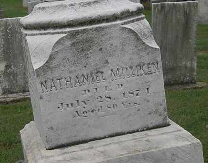 MILLIKEN, NATHANIEL - Lake County, Ohio | NATHANIEL MILLIKEN - Ohio Gravestone Photos