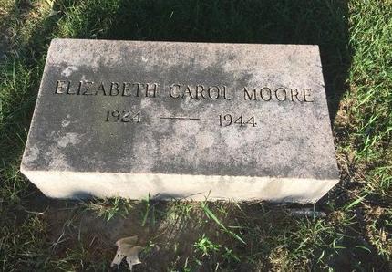 MOORE, ELIZABETH CAROL - Lake County, Ohio | ELIZABETH CAROL MOORE - Ohio Gravestone Photos