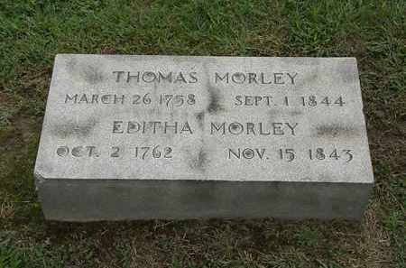 MORLEY, EDITHA - Lake County, Ohio | EDITHA MORLEY - Ohio Gravestone Photos