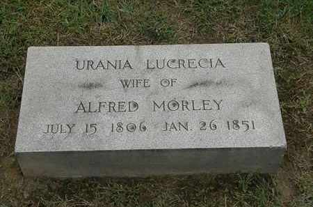 MORLEY, ALFRED - Lake County, Ohio | ALFRED MORLEY - Ohio Gravestone Photos