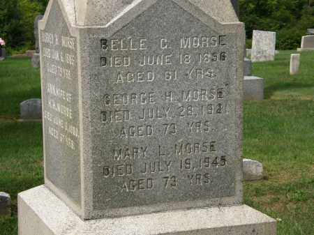 MORSE, BELLE C. - Lake County, Ohio | BELLE C. MORSE - Ohio Gravestone Photos
