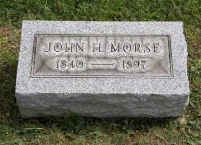 MORSE, JOHN H. - Lake County, Ohio | JOHN H. MORSE - Ohio Gravestone Photos