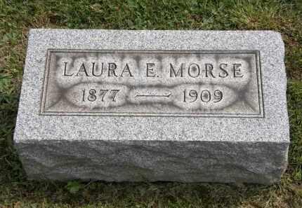MORSE, LAURA E. - Lake County, Ohio | LAURA E. MORSE - Ohio Gravestone Photos
