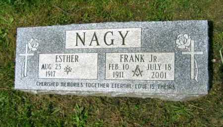 NAGY, ESTHER - Lake County, Ohio | ESTHER NAGY - Ohio Gravestone Photos