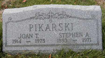 SITKOWSKI PIKARSKI, JOAN T. - Lake County, Ohio | JOAN T. SITKOWSKI PIKARSKI - Ohio Gravestone Photos