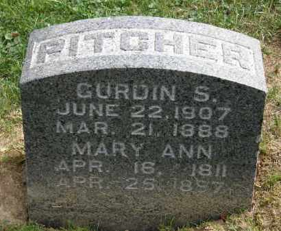 PITCHER, GURDIN S. - Lake County, Ohio | GURDIN S. PITCHER - Ohio Gravestone Photos