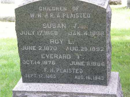 PLAISTED, ROY L. - Lake County, Ohio | ROY L. PLAISTED - Ohio Gravestone Photos