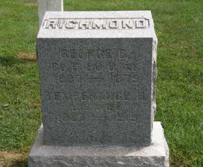 RICHMOND, GEORGE B. - Lake County, Ohio | GEORGE B. RICHMOND - Ohio Gravestone Photos