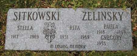 ZELINSKY, PAULA T. - Lake County, Ohio | PAULA T. ZELINSKY - Ohio Gravestone Photos