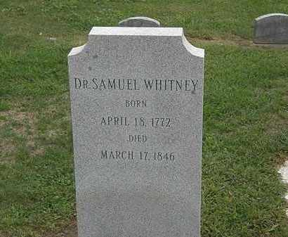 WHITNEY, DR. SAMUEL - Lake County, Ohio | DR. SAMUEL WHITNEY - Ohio Gravestone Photos