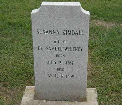 WHITNEY, SUSANNA - Lake County, Ohio | SUSANNA WHITNEY - Ohio Gravestone Photos