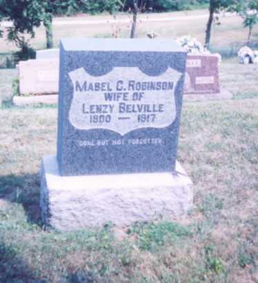 BELVILLE, MABEL C. - Lawrence County, Ohio | MABEL C. BELVILLE - Ohio Gravestone Photos