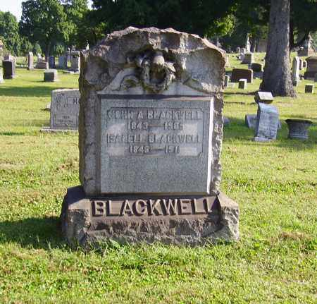 SHARP BLACKWELL, ISABELLA - Lawrence County, Ohio | ISABELLA SHARP BLACKWELL - Ohio Gravestone Photos