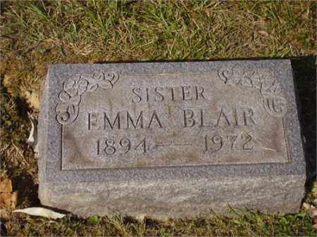 BLAIR, EMMA - Lawrence County, Ohio | EMMA BLAIR - Ohio Gravestone Photos