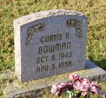 BOWMAN, CURTIS - Lawrence County, Ohio | CURTIS BOWMAN - Ohio Gravestone Photos