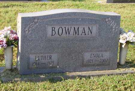BOWMAN, LUTHER - Lawrence County, Ohio | LUTHER BOWMAN - Ohio Gravestone Photos