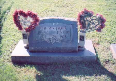 DAVIS, ELMER K. - Lawrence County, Ohio | ELMER K. DAVIS - Ohio Gravestone Photos