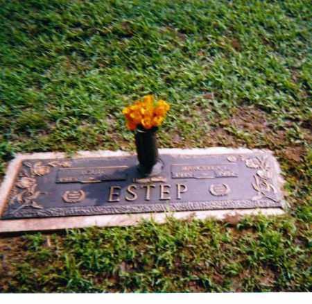 ESTEP, LOUIE - Lawrence County, Ohio | LOUIE ESTEP - Ohio Gravestone Photos