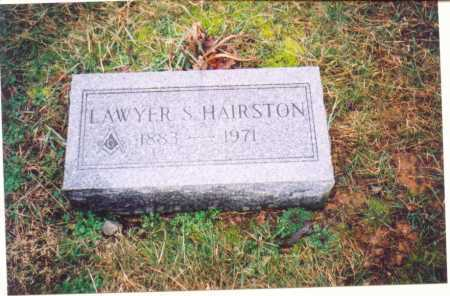 HAIRSTON, LAWYER S. - Lawrence County, Ohio | LAWYER S. HAIRSTON - Ohio Gravestone Photos