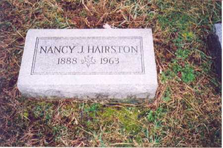 HAIRSTON, NANCY J. - Lawrence County, Ohio | NANCY J. HAIRSTON - Ohio Gravestone Photos