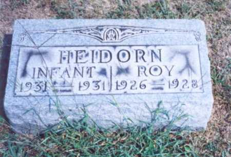 HEIDORN, ROY - Lawrence County, Ohio | ROY HEIDORN - Ohio Gravestone Photos