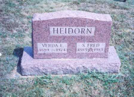 HEIDORN, S. FRED - Lawrence County, Ohio | S. FRED HEIDORN - Ohio Gravestone Photos