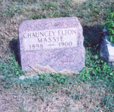 MASSIE, CHAUNCEY ELTON - Lawrence County, Ohio   CHAUNCEY ELTON MASSIE - Ohio Gravestone Photos
