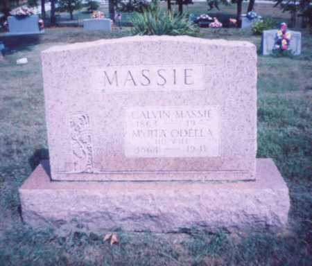 CORN MASSIE, MYRTA ODELLA - Lawrence County, Ohio | MYRTA ODELLA CORN MASSIE - Ohio Gravestone Photos
