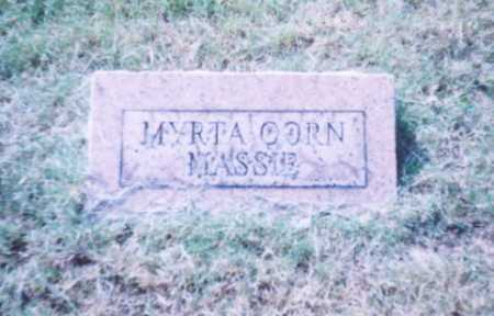CORN MASSIE, MYRTA - Lawrence County, Ohio | MYRTA CORN MASSIE - Ohio Gravestone Photos