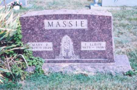 MASSIE, E. LEROY - Lawrence County, Ohio | E. LEROY MASSIE - Ohio Gravestone Photos