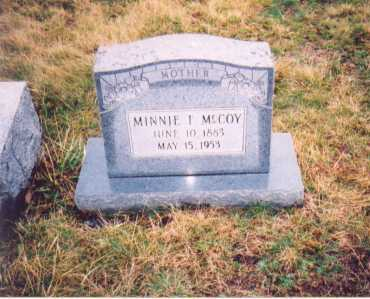MCCOY, MINNIE F. - Lawrence County, Ohio | MINNIE F. MCCOY - Ohio Gravestone Photos