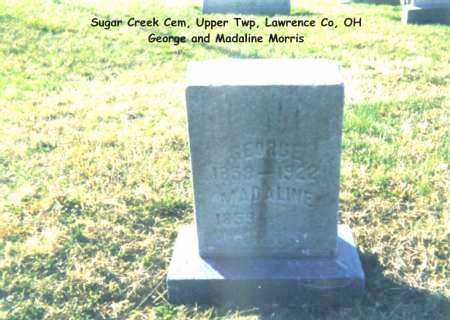 MORRIS, GEORGE - Lawrence County, Ohio | GEORGE MORRIS - Ohio Gravestone Photos