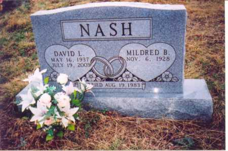 NASH, MILDRED B. - Lawrence County, Ohio | MILDRED B. NASH - Ohio Gravestone Photos