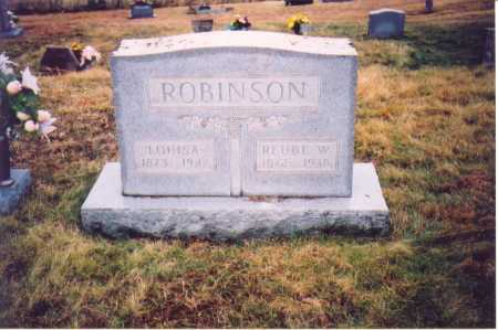 ROBINSON, LOUISA - Lawrence County, Ohio | LOUISA ROBINSON - Ohio Gravestone Photos