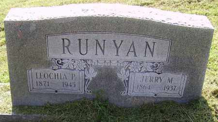 RUNYAN, JEREMIAH M (JERRY) - Lawrence County, Ohio | JEREMIAH M (JERRY) RUNYAN - Ohio Gravestone Photos