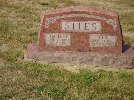 SITES, CHARLES EDWARD - Lawrence County, Ohio | CHARLES EDWARD SITES - Ohio Gravestone Photos