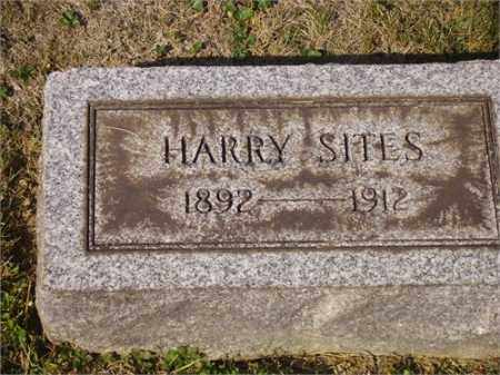 SITES, HARRY - Lawrence County, Ohio | HARRY SITES - Ohio Gravestone Photos